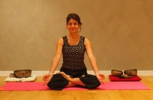 Catherine, prof au centre de yoga Mouna
